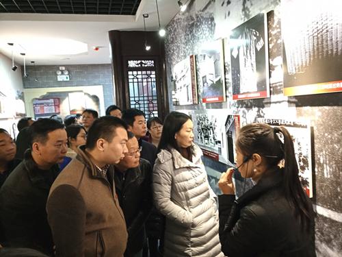 科干班学员到陈潭秋故居开展主题党日活动